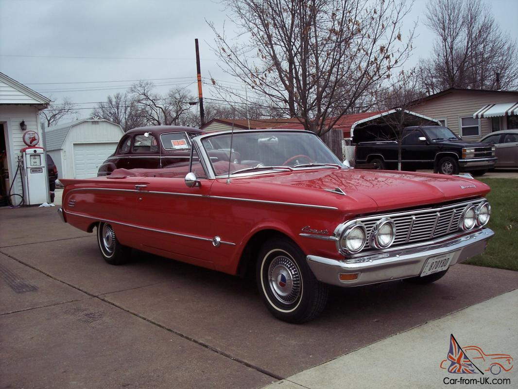1963 Mercury Comet For Sale Auto Electrical Wiring Diagram