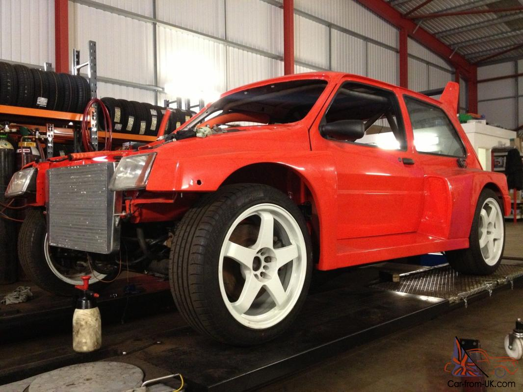 Mg 6r4 For Sale 1989 Mg Metro Turbo Orange Rwd 300hp 43 6r4 Kit