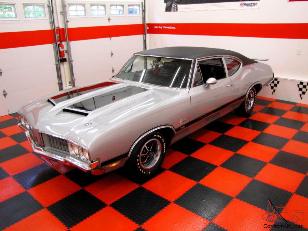1970 oldsmobile cutlass w31 post coupe 1 of 116 built thornton restoration