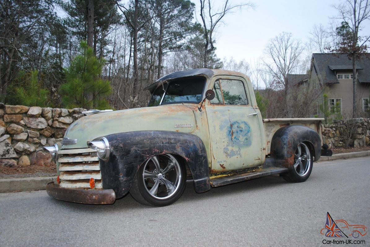 1951 chevy truck rat rod