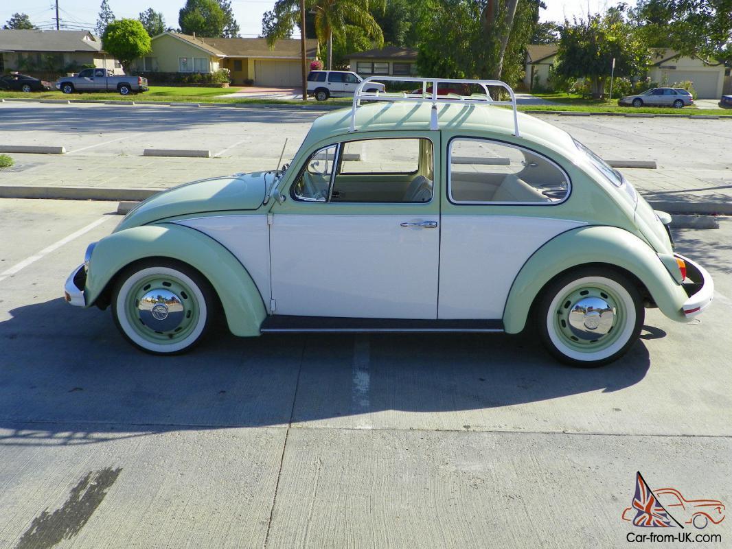 Vw Beetle Classic Two Tone