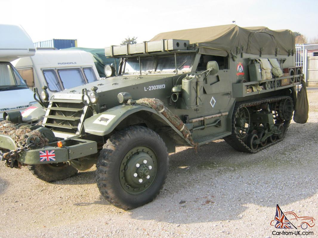 Arte Naif Jugoslavia 1941 International M5 Half Track World War 2