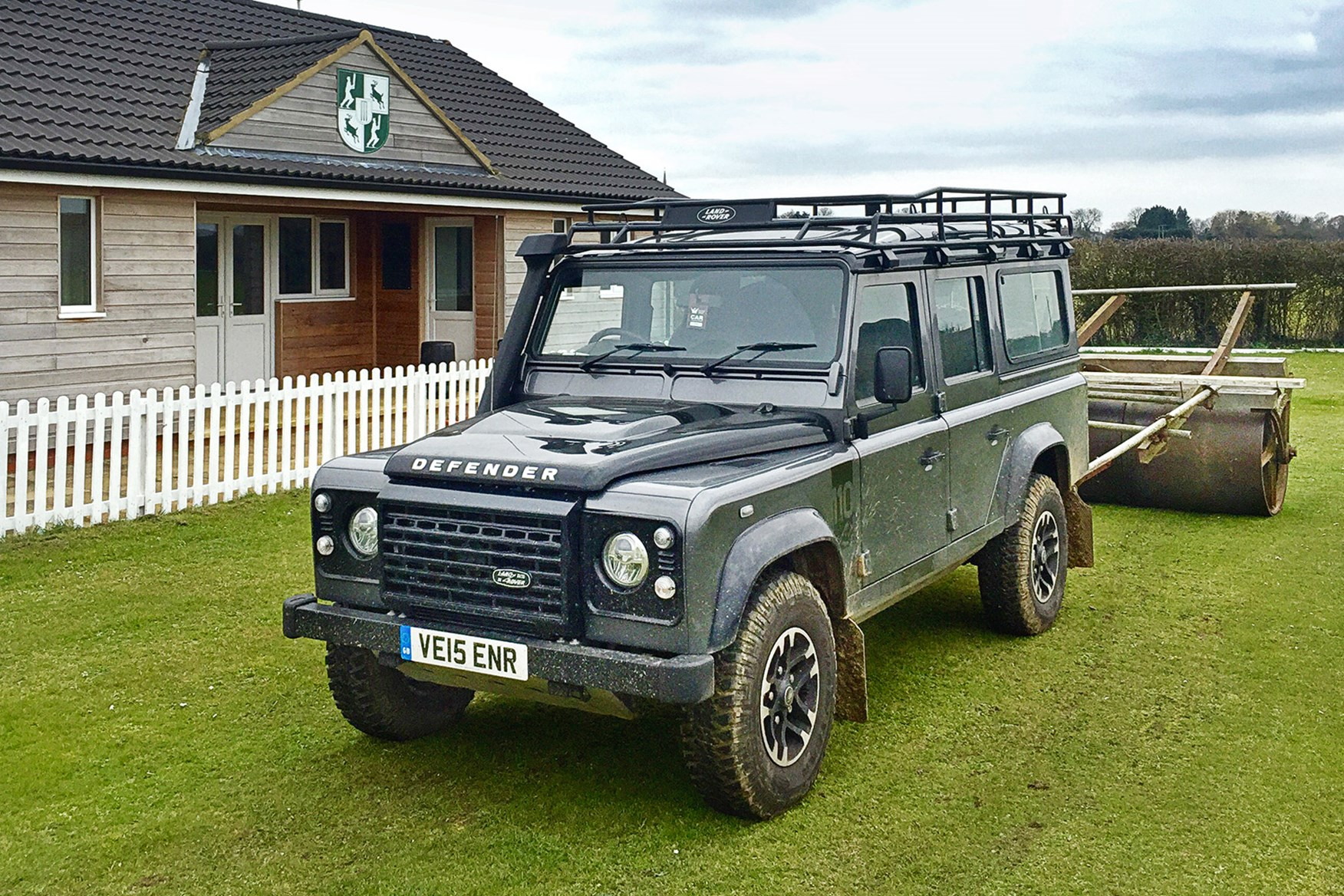 Land Rover Height Land Rover Defender 110 Station Wagon 2016 Long Term