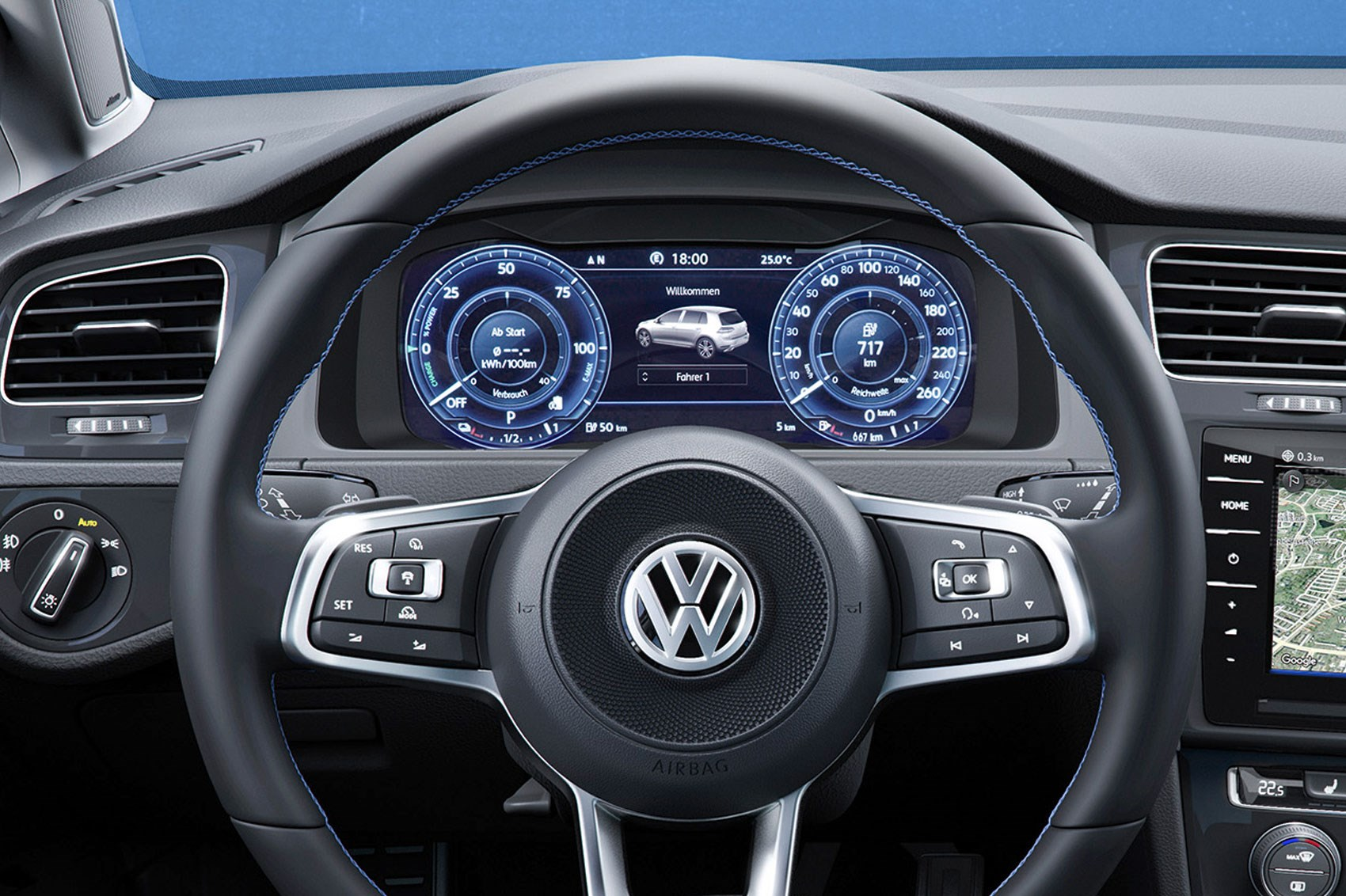 Car Display Wallpaper Vw Seven Things You Need To Know About The Facelifted 2017 Vw