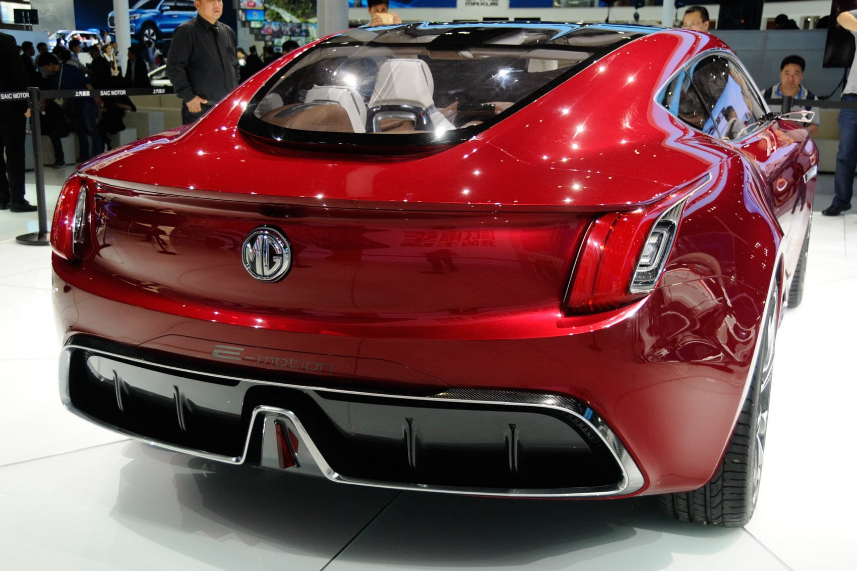 E On Electric All Electric Mg E Motion Concept Is Supercar For