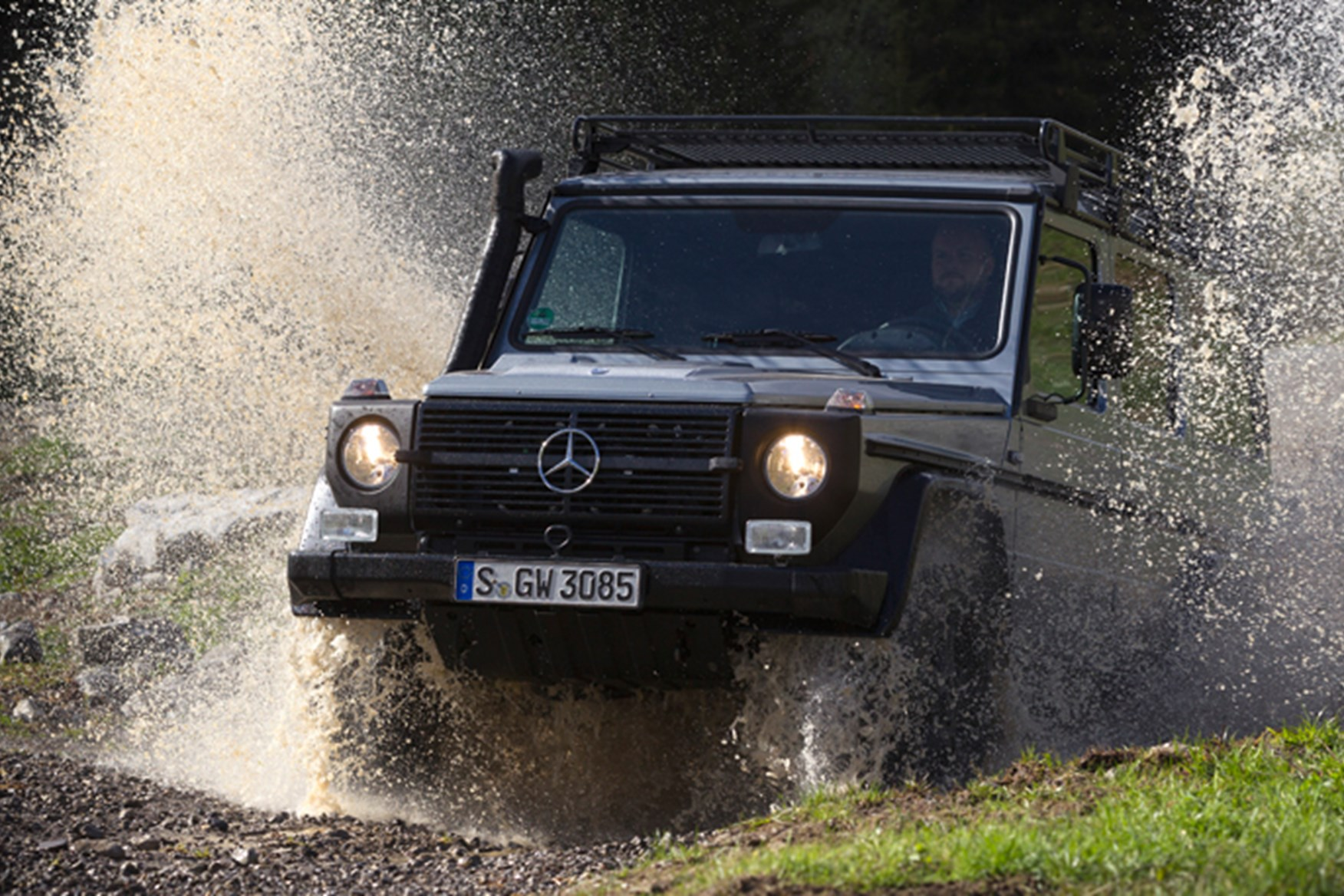 Baby Merc Company Mercedes Mulling Glg Baby G Wagen For 2015 Car Magazine