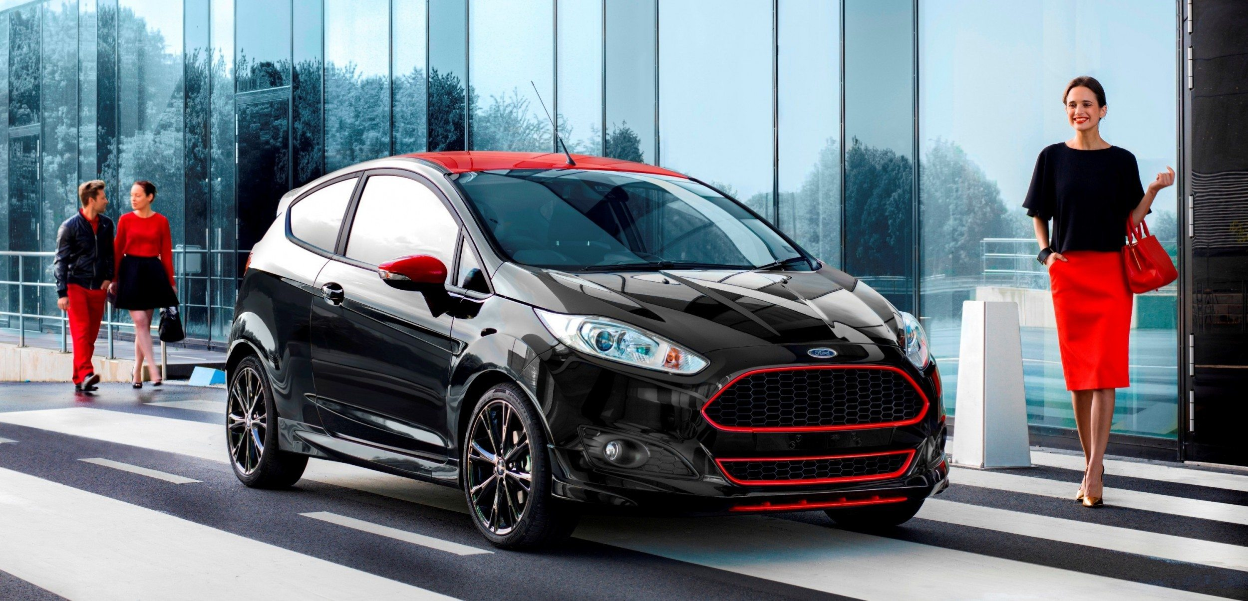 All Black Ford Fiesta 2014 Ford Fiesta Red Edition And Fiesta Black Edition For