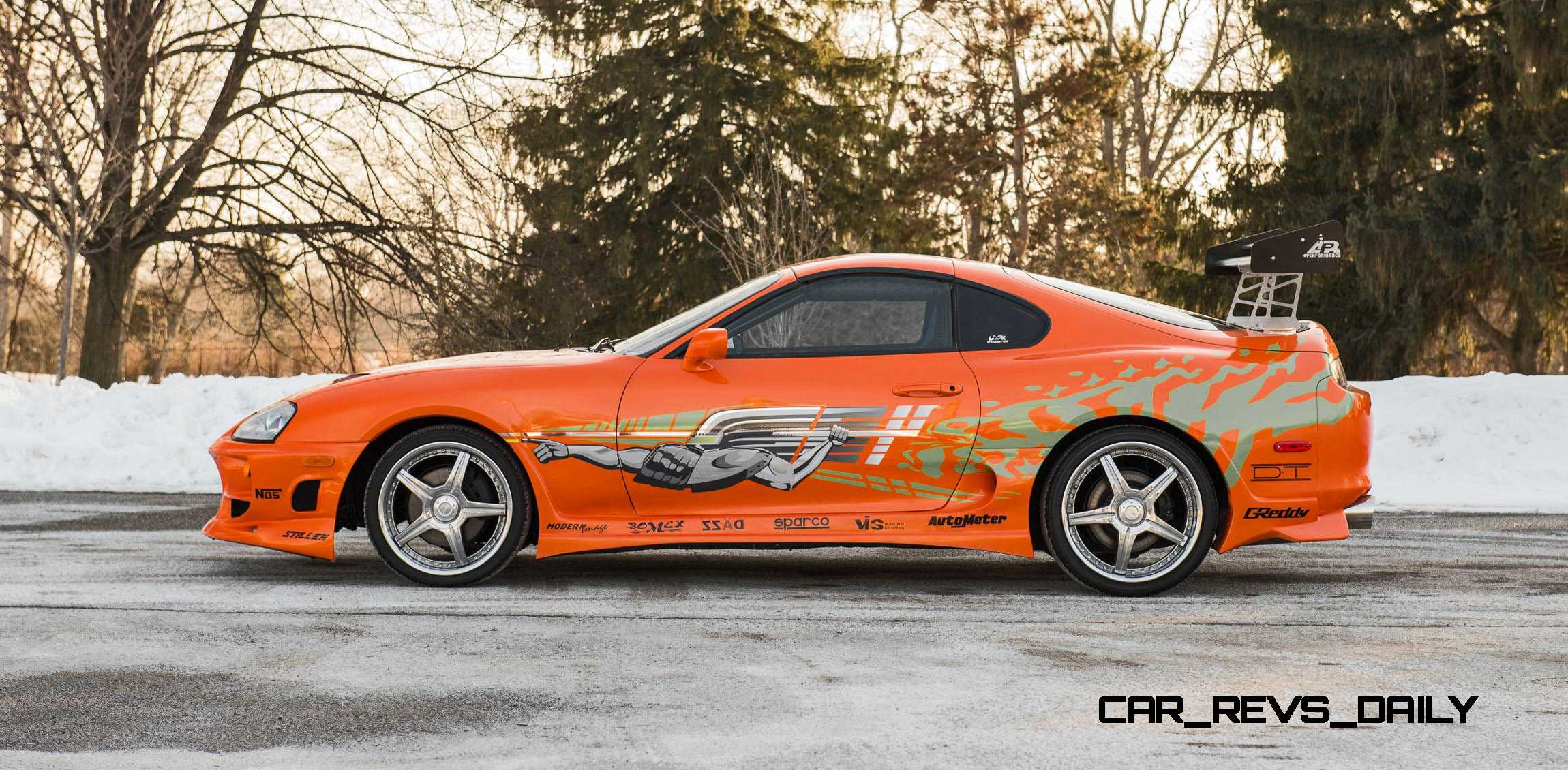 Toyota Supra From The Fast And The Furious 1993 Toyota Supra Official Fast Furious Movie Car 12