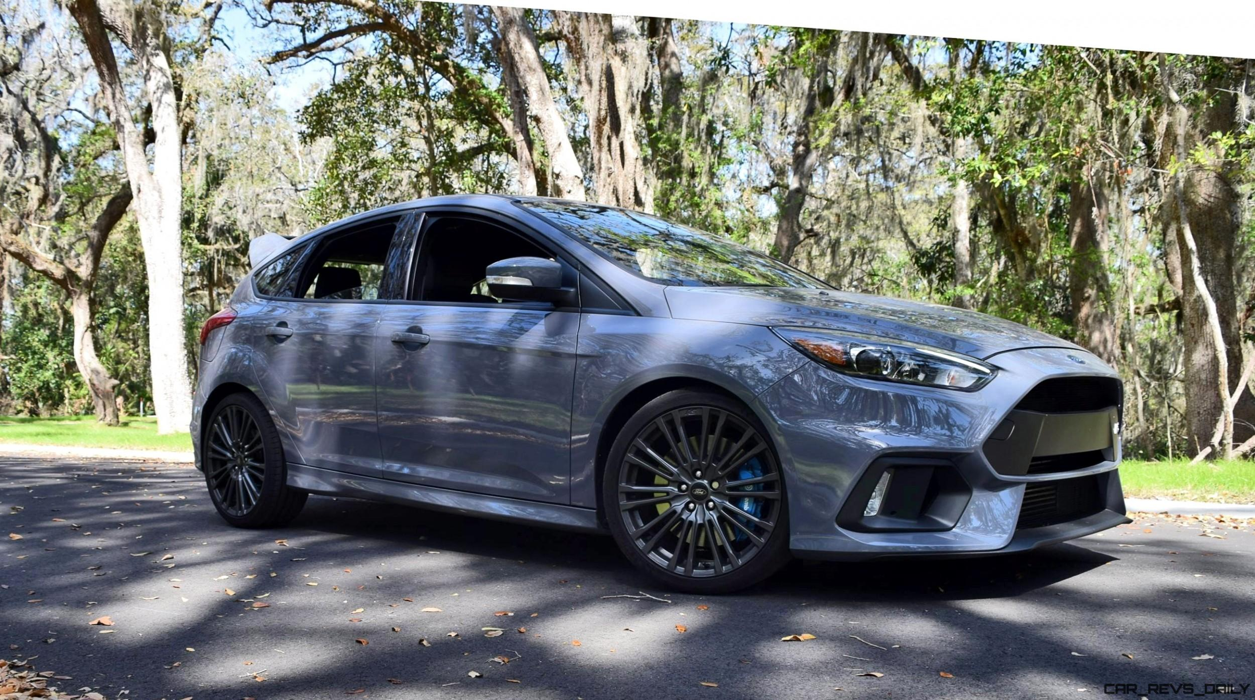 Ford Focus Rs Grey 2017 Ford Focus Rs Hd Road Test Review