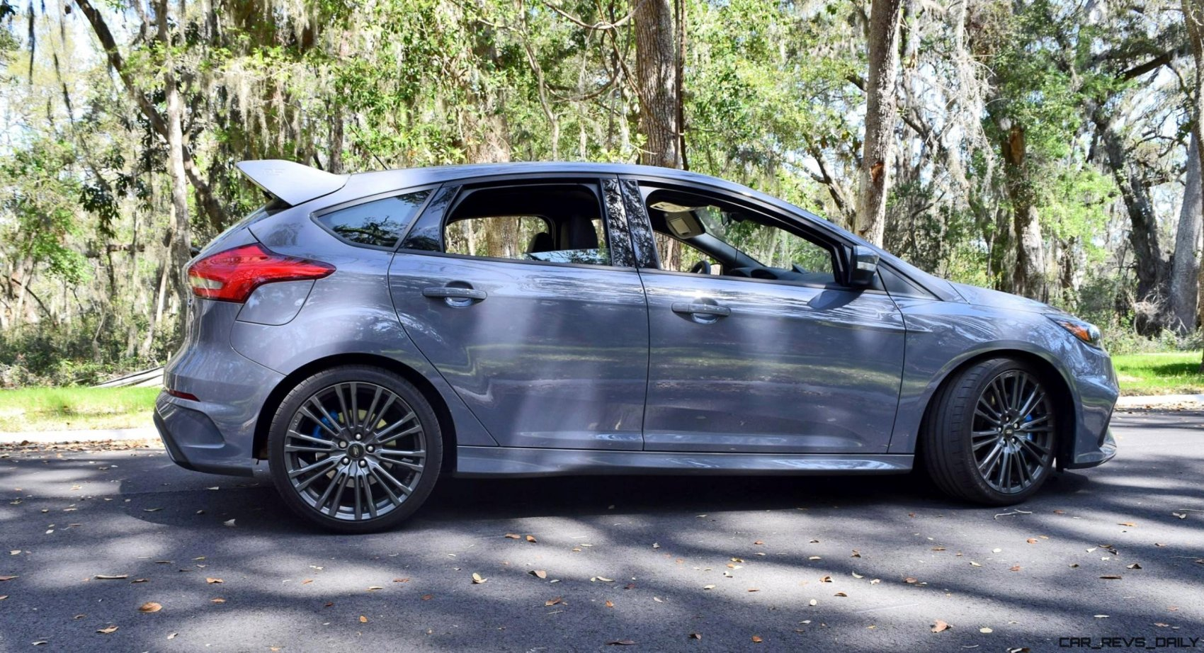 Ford Focus Rs Grey 2017 Ford Focus Rs Stealth Grey 14