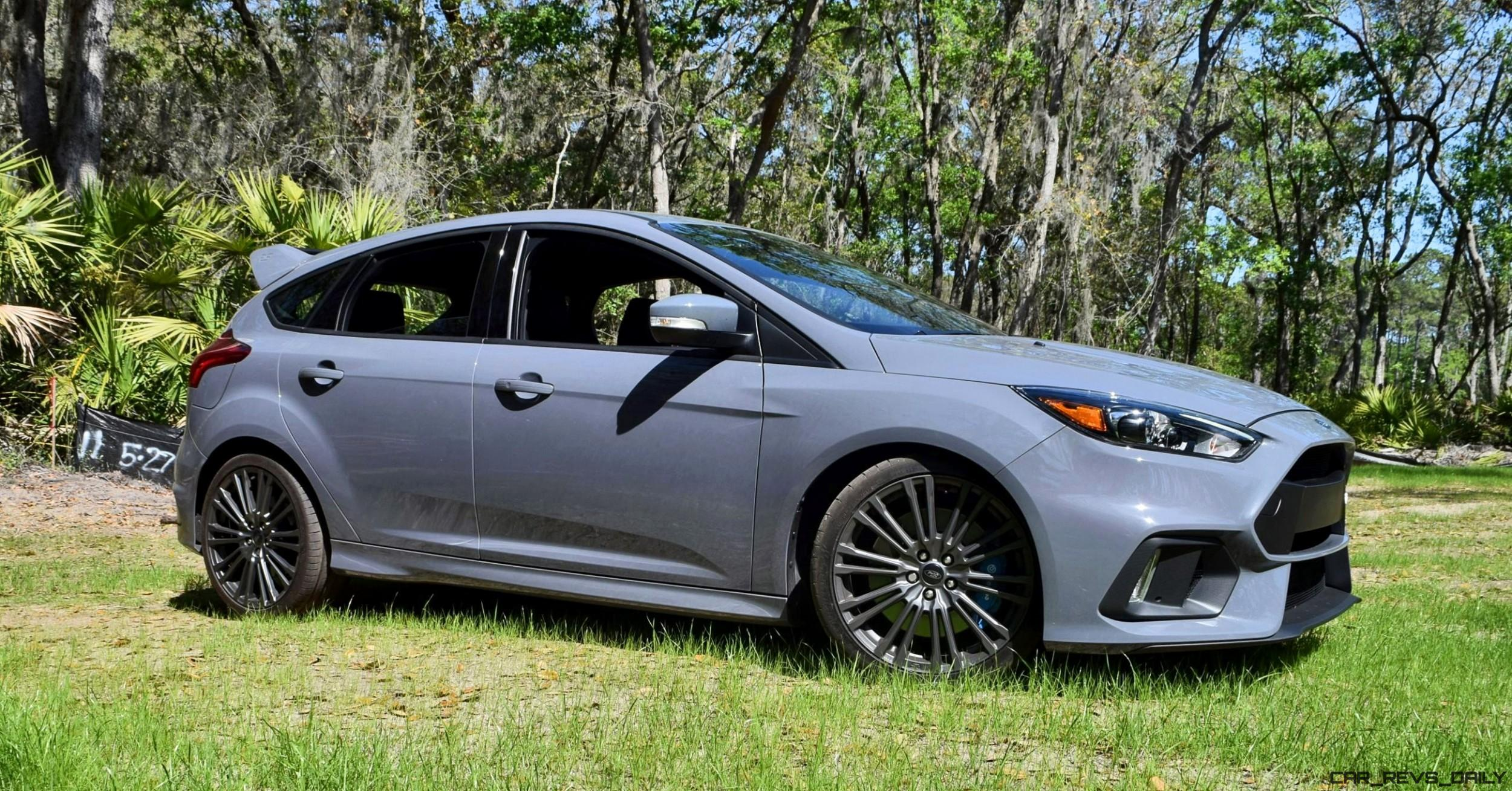 Ford Focus Rs Grey 2017 Ford Focus Rs Stealth Grey 45