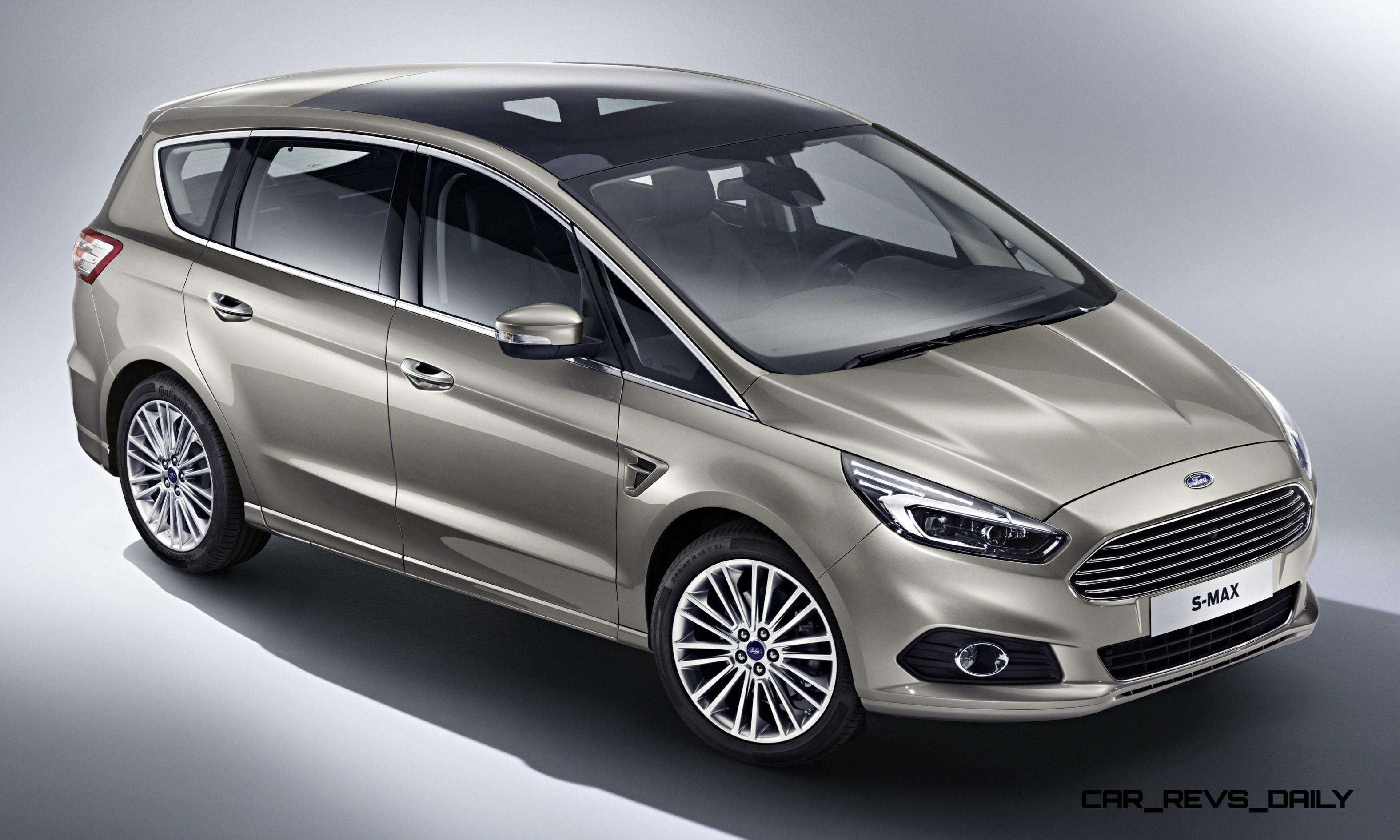 S Max Schiebetür 2015 Ford S-max Van Adds Led Lighting And Next-gen Sync In