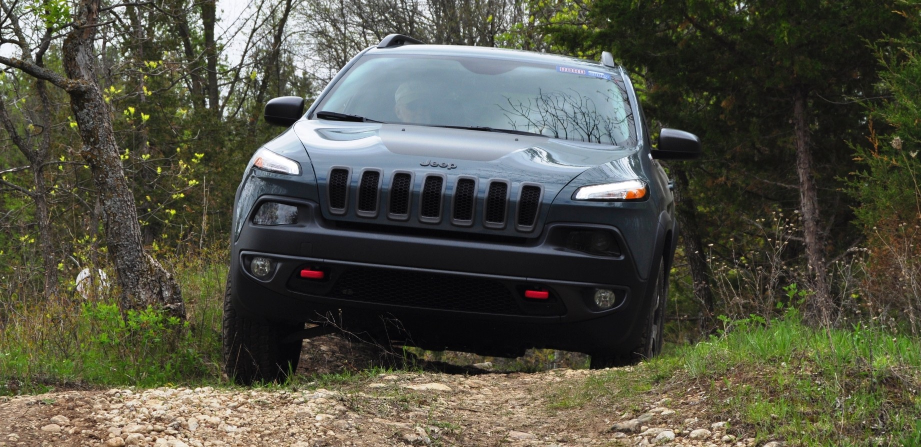 Jeep Trails Off Road Test Review 2014 Jeep Cherokee Trailhawk On Some Tough