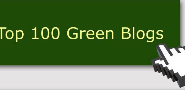 top 100 green blogs