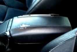 Volvo S80 detalle reposabrazos