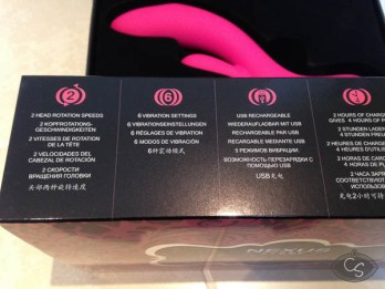 Nexus Femme Bisous Rabbit Vibrator Review