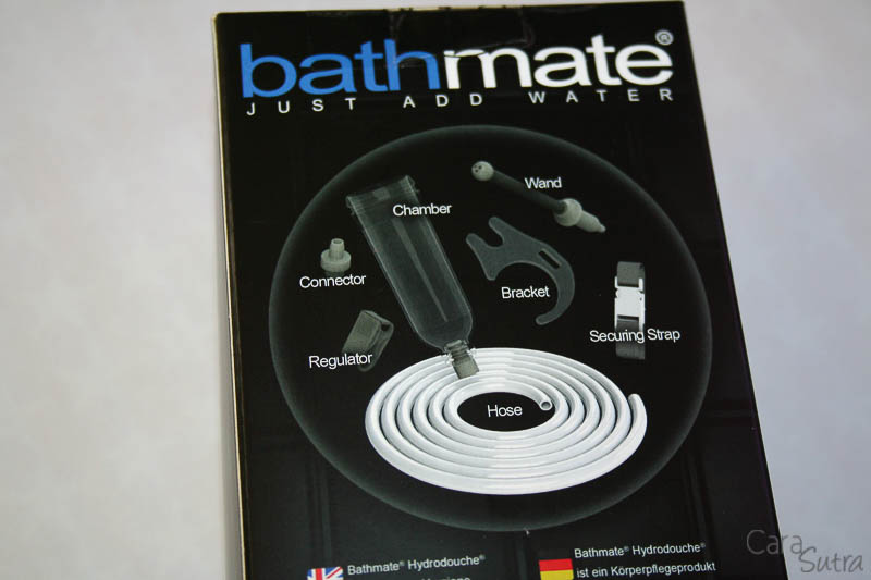 how to use bathmate in shower