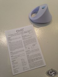 OVO Silicone Vibrating Couples Ring B11 White