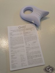 OVO Silicone Vibrating Couples Cock Ring