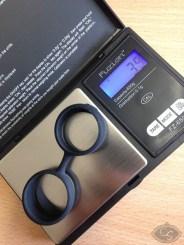 weight of LELO Luna Beads Noir Kegel balls review