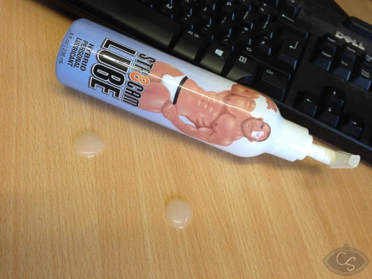 str8cam hybrid spunk lubricant lube review at Cara Sutra