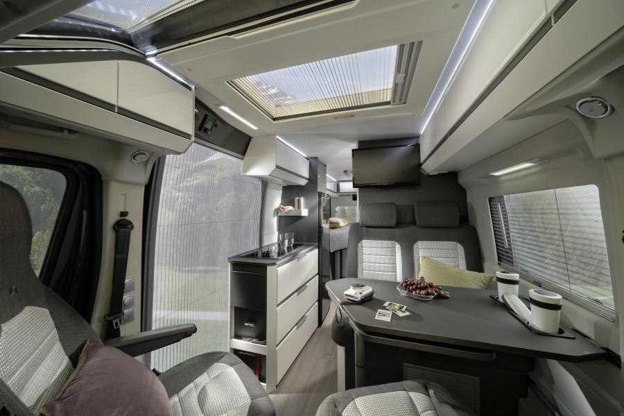 Interieur Design Website Adria Twin Supreme 600 Spb - Caravan Wiedemann Wohnmobil