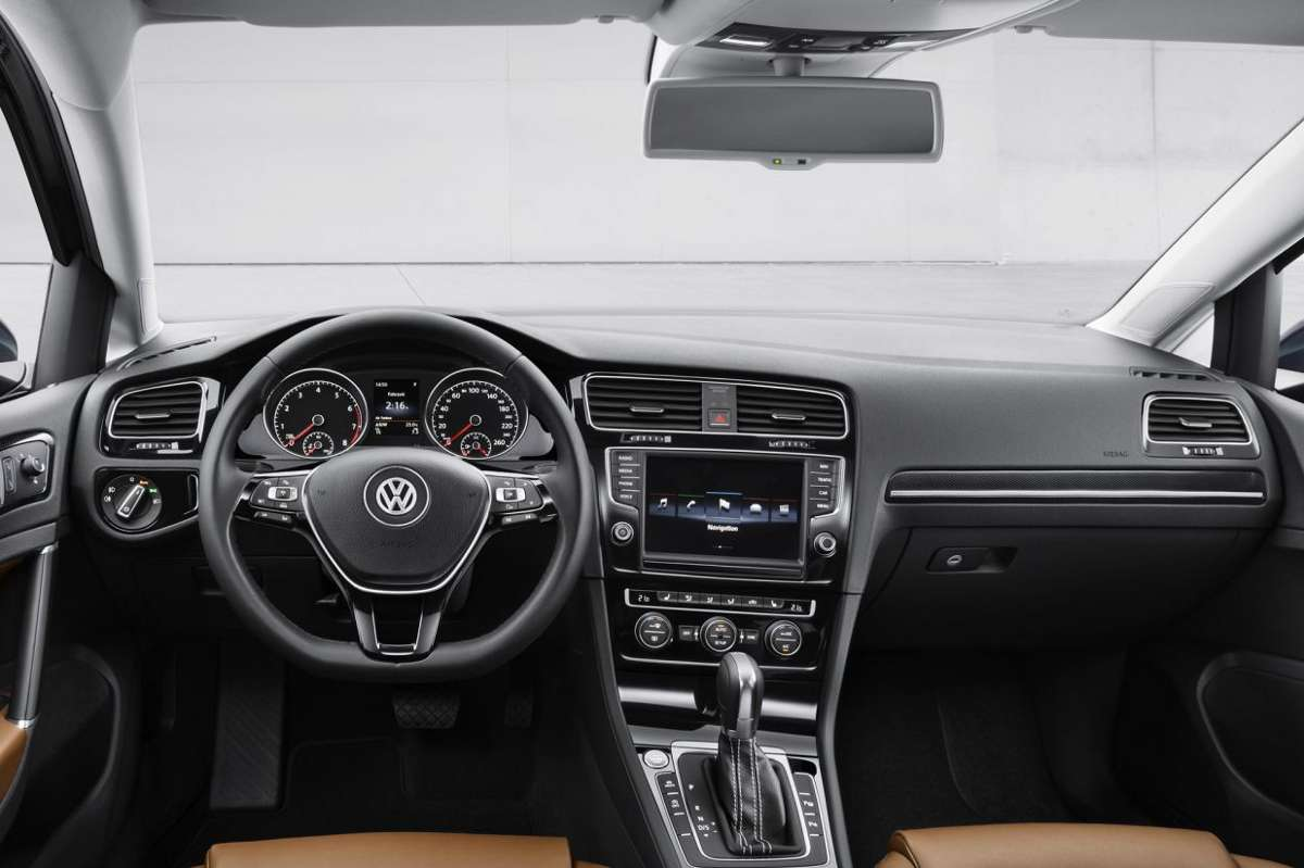 Vw Golf Interieur De Nieuwe Golf 7 Gti | Carblogger