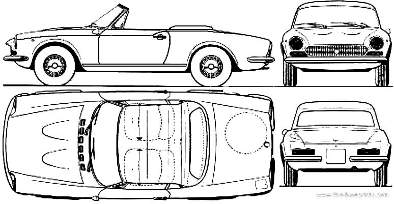 1975 fiat 124 Schaltplang