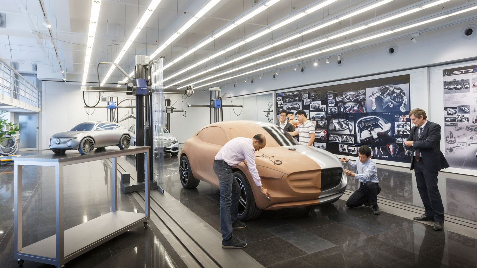 Design Studio Stuttgart Mercedes Benz Advanced Design Studio In Beijing Car Body
