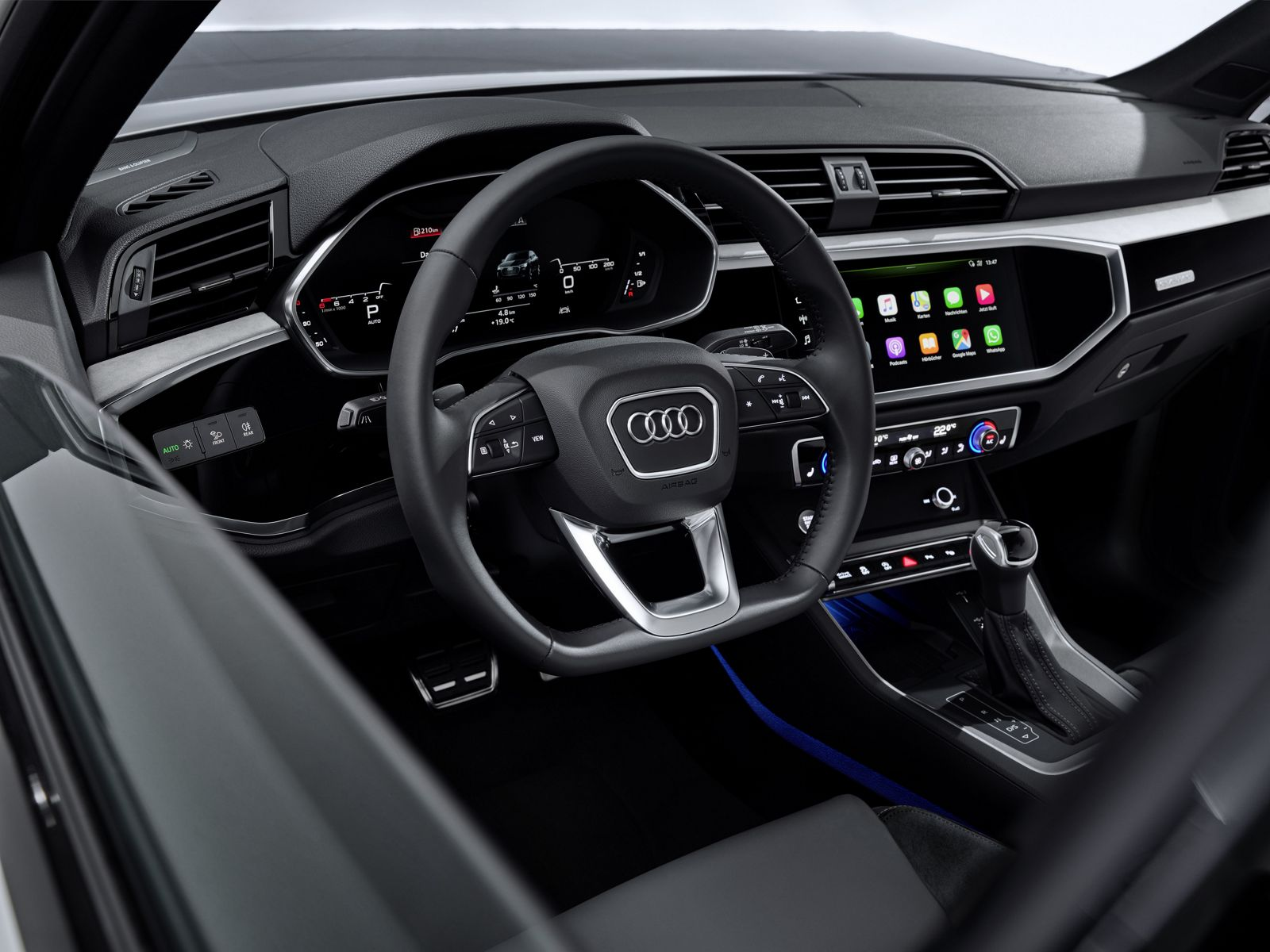 Boite Archive Design Audi Q3 Sportback Interior - Car Body Design