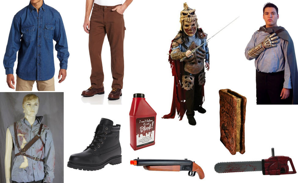 Ash From Evil Dead Costume Diy Guides For Cosplay