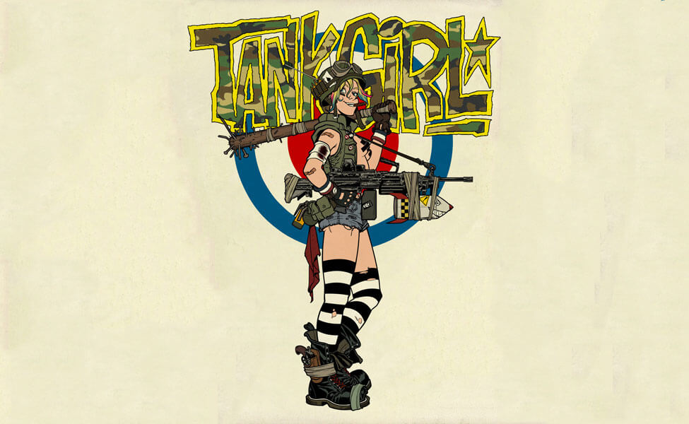 Tank Girl And Booga Wallpaper Tank Girl Costume Diy Guides For Cosplay Amp Halloween
