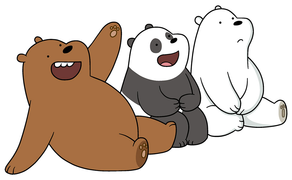 Fall Rug Wallpaper Ice Bear Panda Grizz From We Bare Bears Carbon Costume