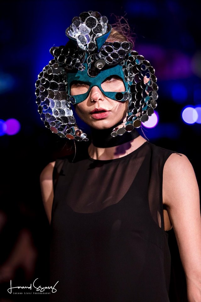 Shay Lhea \u2013 Mask Designer/Milliner - Oculto LBD Gala (On The Runway)