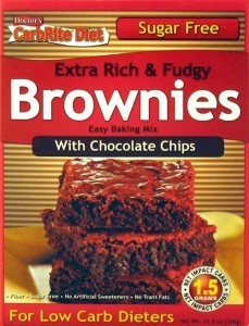 Doctor's Carbrite Diet - Chocolate Chip Brownie Mix, Sugar Free