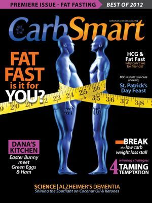 CarbSmart Magazine for iPad March 2013 Cover Premiere Issue