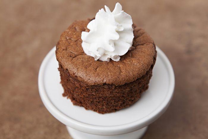 Choco-Peanut Flourless Cakes