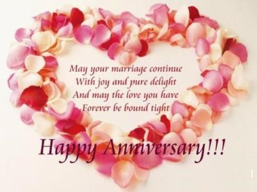 General Wedding Anniversary Verses - Card Verses, Greetings And Wishes - free anniversary images
