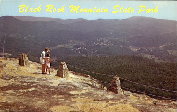 Stock Images App Black Rock Mountain State Park Mountain City Ga