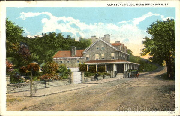 Photo Stock School Old Stone House Uniontown Pa