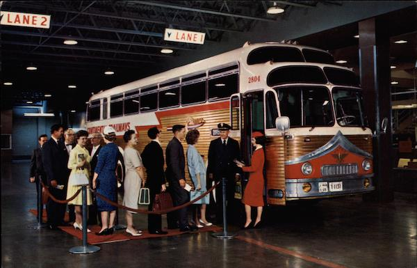 Eagle Products Continental Trailways Golden Eagle Buses