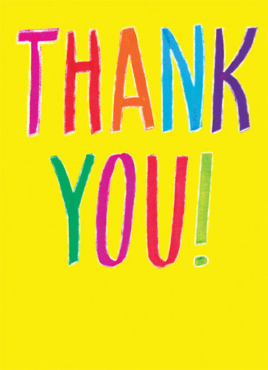 Thank You Cards, Funny Thank You Cards Free Postage Included