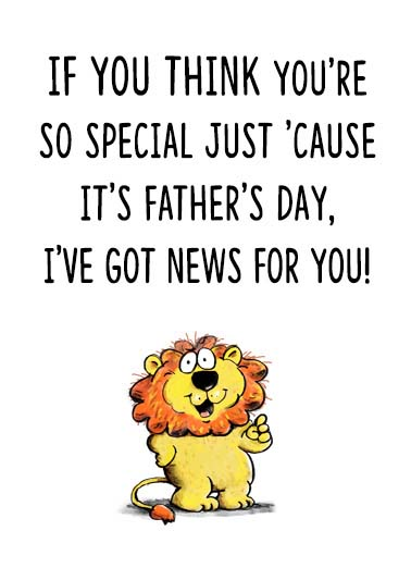 Funny Father\u0027s Day Ecards CardFool - father day cards from daughters