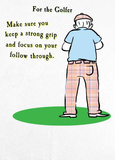 Father\u0027s Day Cards Golf, Funny Cards - Free postage included - father day cards