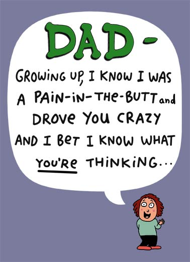 Father\u0027s Day Cards From Daughter, Funny Cards - Free postage included