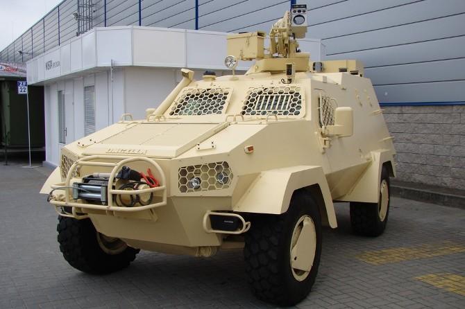 Польский бронеавтомобиль Mista Oncilla