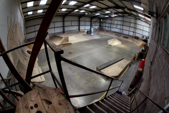 Spit And Sawdust Cardiff Skatepark Cardiff Cyclist