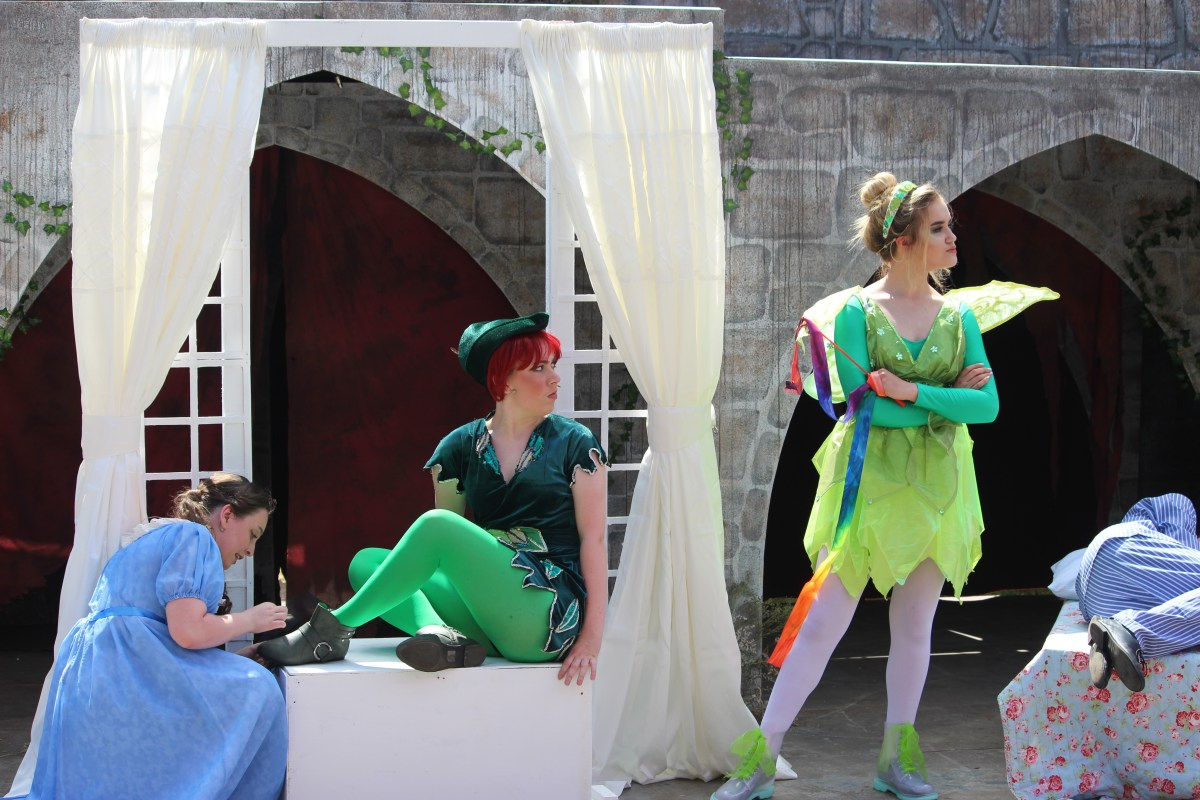 Peter Pan Jnr at Everyman, Cardiff open air theatre festival - review