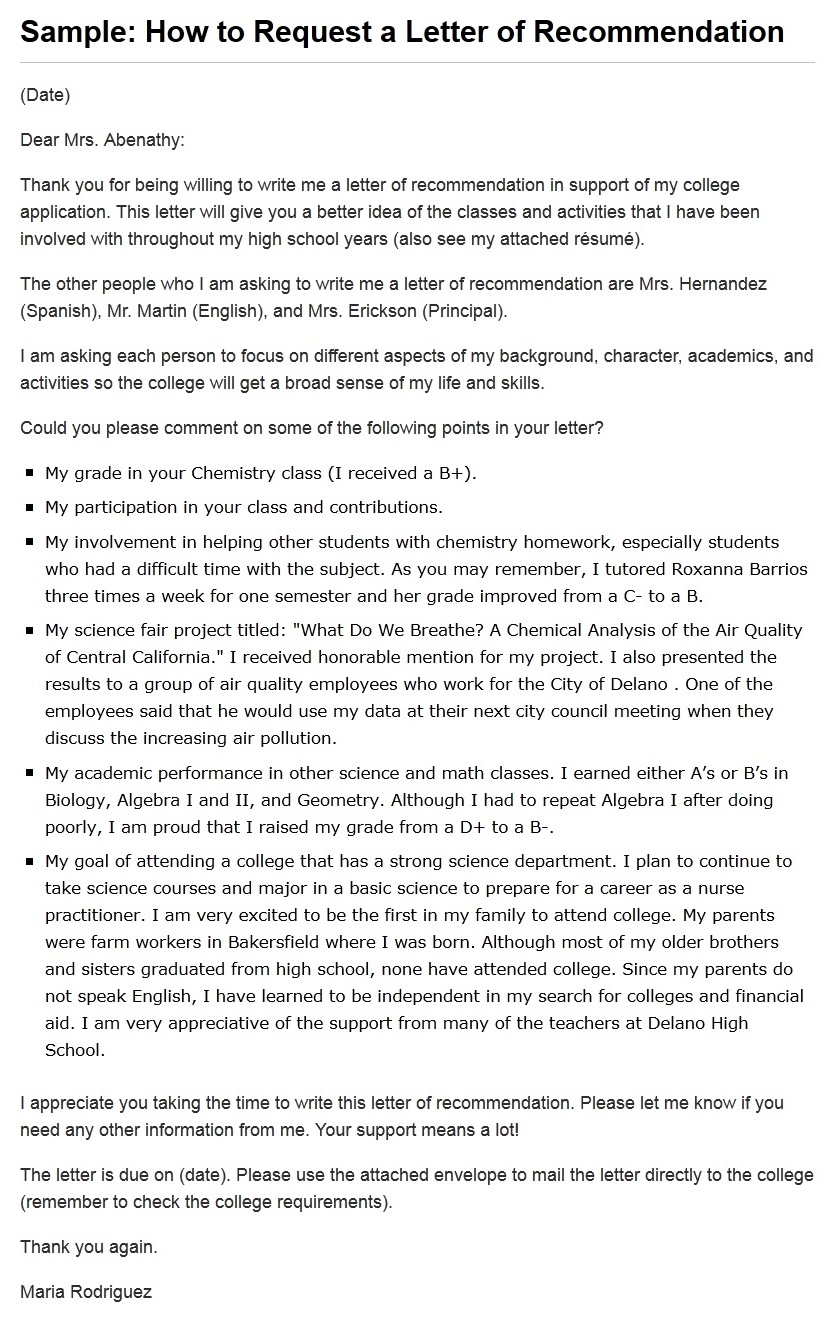 recommendation letter write your own resume writing resume recommendation letter write your own how to write a letter of recommendation sample letters this