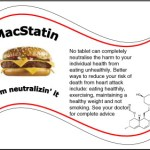 AJC editorial seriously proposes that statins be offered freely at fast food restaurants